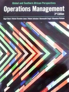 Operations Management (3rd Edition)