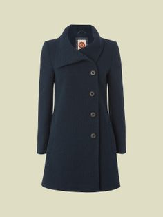 HARROW WOOL COAT | coats & jackets | White Stuff