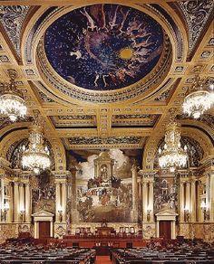 Pennsylvania State Capital House Chamber
