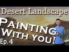 We are now on Episode 4 of the Desert Landscape Oil Painting with You! In this episode, we added highlights to the mountains and foreground. To vote to see how this painting will continue, please visit: http://paintwithkevin.com/vote.html