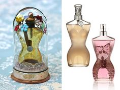 "Fini was also the creator behind the iconic perfume bottle of Elsa Schiaparelli's ""Shocking"", which later became indisputable the inspiration for Jean Paul Gaultier's famous perfume bottles (picture to the right of Fini's original silhouette bottle design)."