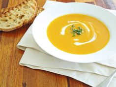 Pumpkin Soup recipe - 5 star rated super easy to cook.