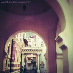 Another historical building in Kuala Lumpur the Panggung Bandaraya, by Void Illuminated Artworks, Photo from the Instacanvas gallery of zhamlucan.