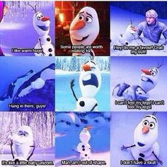 @Quotes_Frozen: Greatest moments of Olaf #Frozen