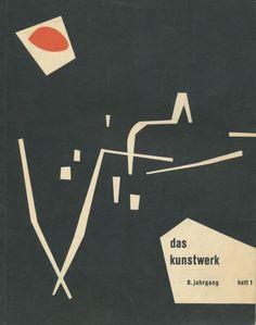 Das Kunstwerk - Cover - 8. Jahrgang, Heft 1