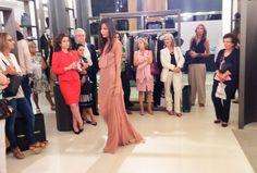 Quémepongo participó en la presentación de la colección otoño-invierno de Roberto Verino con un divertido taller de estilismo. #talleres #otoñoinvierno #moda