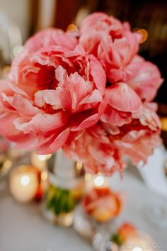 Ahhhhh this color! Coral #Peony Bouquet | See the wedding on #SMP Weddings  http://www.stylemepretty.com/massachusetts-weddings/nantucket/2013/06/25/nantucket-wedding-from-soiree-floral-and-zofia-co-photography  Zofia & Co. Photography | Soiree Floral Design