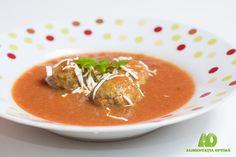 Chifteluțe marinate în sos de ardei copt » Alimentația Optimă