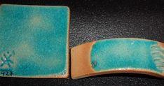 Fórmula: M427     Materias primas:  15 % Arcilla Blanca (Tincar Súper)  45 % Bicarbonato de sodio  40 % Cuarzo (SiO2)  2 % óxido de Cobre  +... Ceramic Techniques, Money Clip, Sunglasses Case, Pottery, Ceramics, Videos, Copper, Enamels, Oral Health