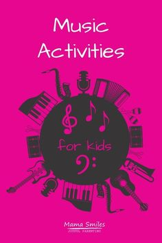 Fun ways for kids to learn music at home, and ideas for teaching music to children - even if you are not a musician yourself.  #music #homeschool #handsonlearning #teachmusic #musicathome Kindergarten Music, Preschool Music, Teaching Music, Teaching Kids, Kids Learning, Music For Toddlers, Educational Activities For Kids, Kids Music, Rainy Day Fun