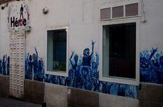 Calle Costanilla de los Desamparados. Barrio Lavapiés. Madrid. 2015