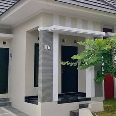 trendy exterior paint colors for house small Bungalow House Design, House Front Design, Small House Design, Exterior Paint Colors For House, Paint Colors For Home, Paint Colours, Minimalist House Design, Minimalist Home, Affordable Bedroom Sets