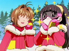 Cardcaptor Sakura Episode Episode 64 | CLAMP | Madhouse / Kinomoto Sakura and Daidouji Tomoyo