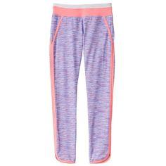 Girls 7-16 & Plus Size SO® Vented Hem Performance Leggings, Girl's, Size: 18 1/2, Med Purple