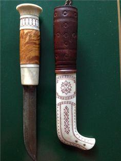 Samekniv av Anders Sunna på Tradera.com - Knivar från Skandinavien | Cold Steel, Custom Knives, Knife Making, Cool Artwork, Handicraft, Horn, Chess, Metal, Vikings