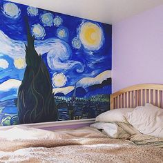 *⋆wιтн yoυr love noвody can drag мe down⋆* Vincent Van Gogh, My New Room, My Room, House Of Gold, Room Goals, Dream Rooms, Decor Interior Design, Art Blog, My Dream Home