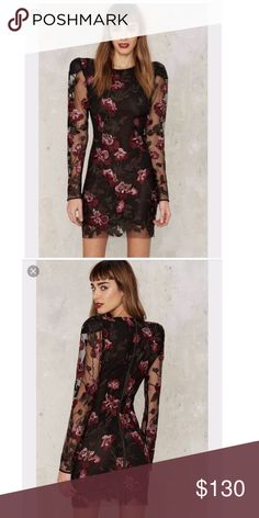 Nasty Gal Collection Bologna Embroidered Mini NWOT Nasty Gal Dresses Mini