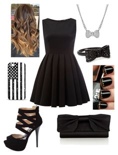 """Little Black Dress"" by briony-jae ❤ liked on Polyvore featuring Coast, TFNC, Charlotte Russe, Forever 21, Talullah Tu, women's clothing, women, female, woman and misses"