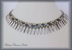 Moonlight Necklace - Pattern for sale at www.SheWalksinCrystal.Etsy.com  $6.41