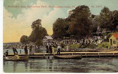 Exposition Park Conneaut Lake PA Methodist Day 1914
