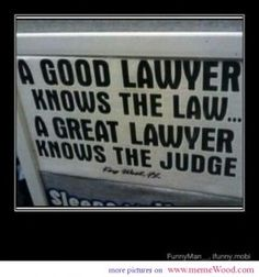 Comic quote about lawyers a good or a great