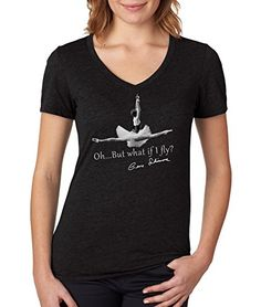 "Gene Schiavone - Womens Ballet Collection ""I Can Fly"" Premium Dual Blend T-shirt (Large, Black) Trunk Candy http://www.amazon.com/dp/B016ZCR4IM/ref=cm_sw_r_pi_dp_.Uqqwb0ZFWNPE"