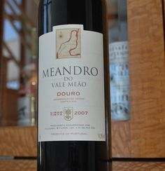 Meandro do Vale Meão 2007 Douro Red Wines, Portugal, Food And Drink, Drinks, Bottle, Beverages, Flask, Red Wine, Drink