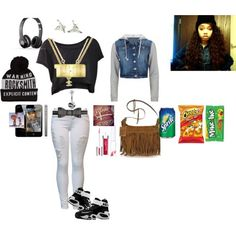 polyvore outfits for teenage girls swag - Google Search