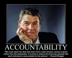 Reagan, personal responsibility, conservative, liberals, democrats Obama is a Socialist Ronald Reagan Quotes, President Ronald Reagan, Responsibility Quotes, Memorial Day Quotes, Leadership Lessons, Leadership Quotes, Political Quotes, Political News, Thing 1