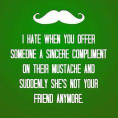 Mustache stuff :{D lol