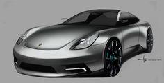 Alan Derosier - Transportation design: Neun-Elf 911