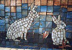 rabbit mosaic
