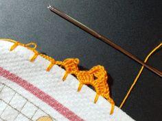 Filomena Crochet e Outros Lavores: - Bico de Crochet - Tutorial