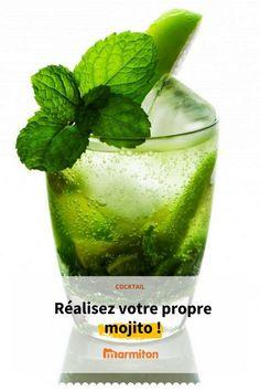 Faites vos propres mojitos en suivant cette recette #cocktail #mojito #rhum #boisson #apero #marmiton #recettemarmiton #recette #cuisine