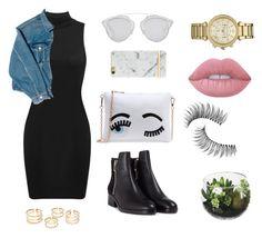 """Luxury"" by owlfleischer on Polyvore featuring мода, Balenciaga, 3.1 Phillip Lim, Christian Dior, Richmond & Finch, Michael Kors, Lime Crime и Trish McEvoy"