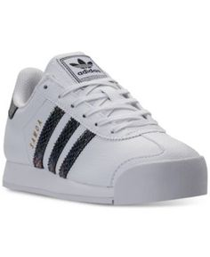 717a383abdbd adidas Big Girls    Samoa Casual Sneakers from Finish Line Kids - Finish  Line Athletic Shoes - Macy s