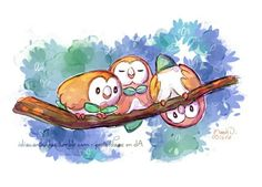 Rowlet #letkevinfly