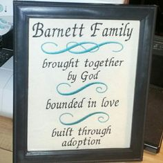 Adoption quote by MonogramBoutiqueMS on Etsy, $24.80