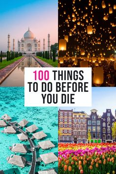 EPIC bucket list travel adventures # Adventure Travel Bucket Lists 100 Things To Do Before You Die: Travel Edition Travel List, Travel Goals, Vacation Travel, Travel Bag, Travel Guide, Adventure Bucket List, Adventure Travel, Destinations D'europe, Places To Travel