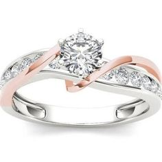 engagement rings two tone - Google Search