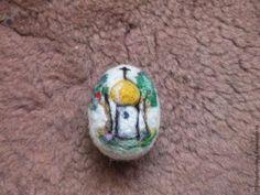 Валяем пасхальное яйцо из шерсти — просто и красиво - Ярмарка Мастеров - ручная работа, handmade