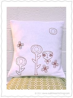 Embroidery project from Cathy Callahan's Vintage Craft Workshop