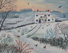 Jo Grundy Art | Winter