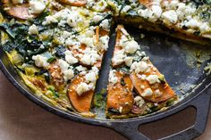 Sweet Potato & Spinach Frittata | Edible Perspective