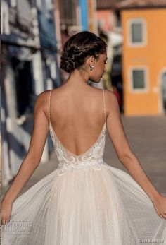 gali karten 2018 bridal spaghetti strap deep sweetheart neckline heavily embellished bodice soft a line wedding dress open scoop back sweep train (9) zbv