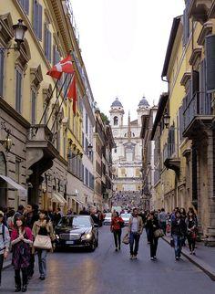 Via Condotti Rome.....take me there. I need new shoes!
