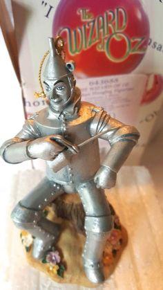 The Wizard of Oz Tin Man Ornament #643688 figurine Enesco ornament Hanging NIP #Enesco #WizardofOz