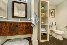 Downstairs bath rider slider 675 x 450 Beautiful Bathrooms, Design Projects, Interior Design, Home, Nest Design, Home Interior Design, Interior Designing, Ad Home, Homes