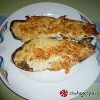 Παπουτσάκια Μελιτζάνας French Toast, Breakfast, Food, Morning Coffee, Meals, Yemek, Eten