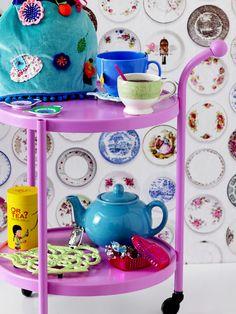 Tea Time - The RICE Italian Tableware Collection #porcelain #porcelana